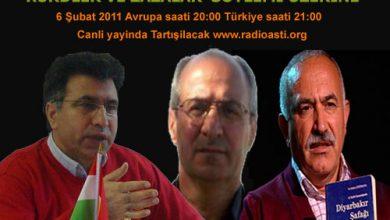 Photo of Pazar akşam saat 20 de Radyo aşiti