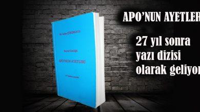 Photo of Apo'nun Ayetleri Dizi yazı olsun mu?